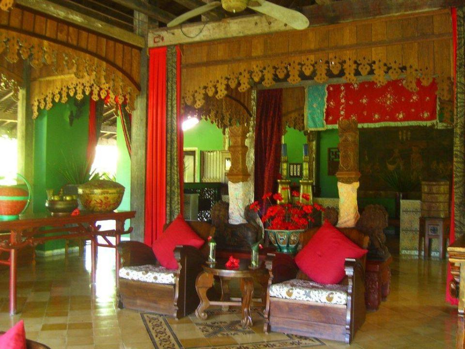Reception Hotel Tugu Lombok