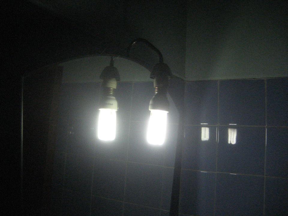 Beleuchtung im Bad Hotel Sierra Maestra