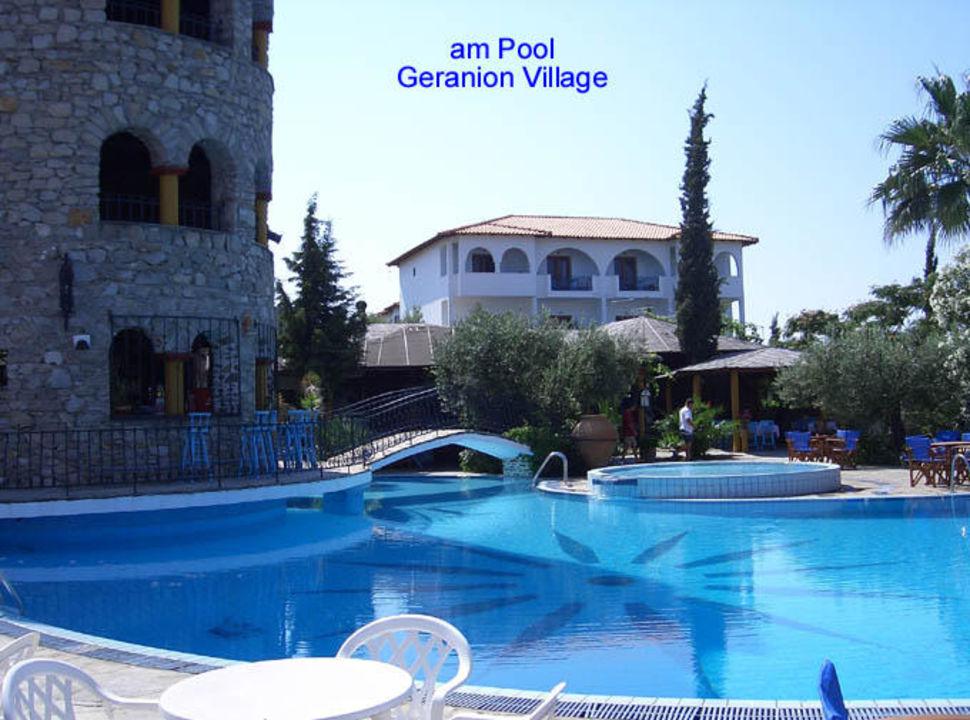 Geranion Village- am Pool Hotel Geranion Village