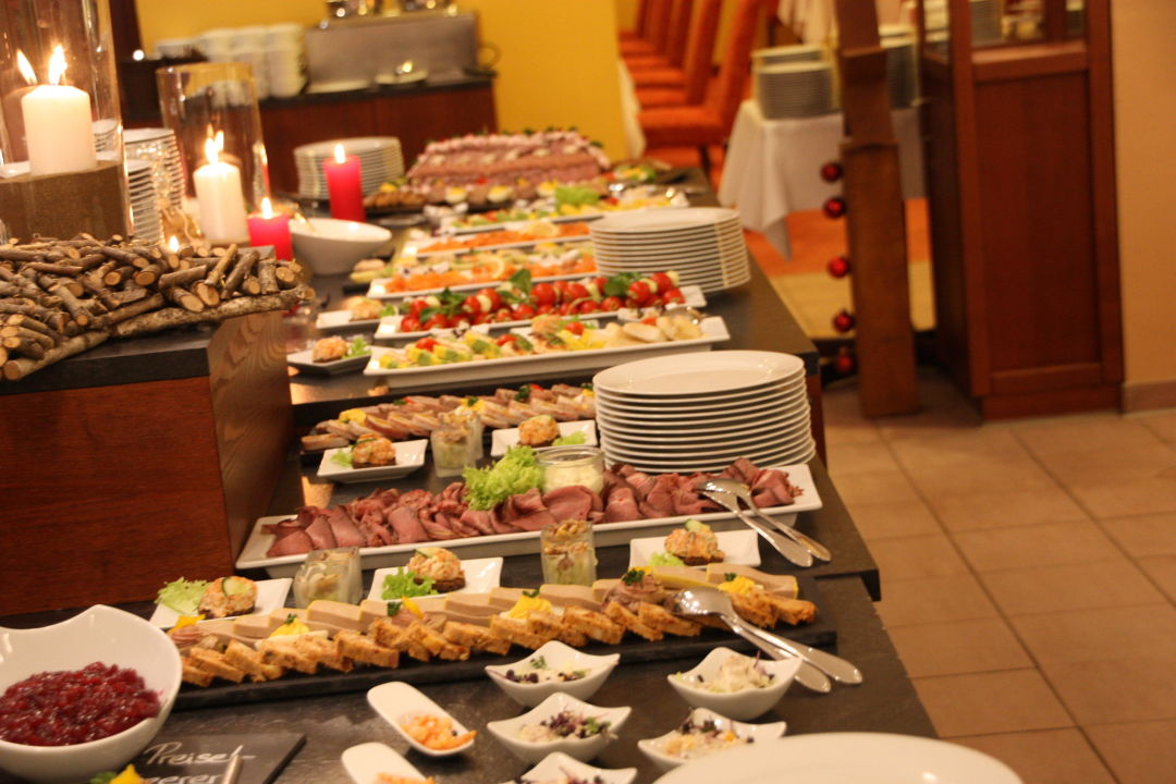 Weihnachtsbuffet Im Relexa Hotel Bad Steben Relexa Hotel Bad Steben