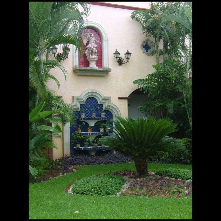 Am Hoteleingang RIU Yucatan Hotel Riu Yucatan