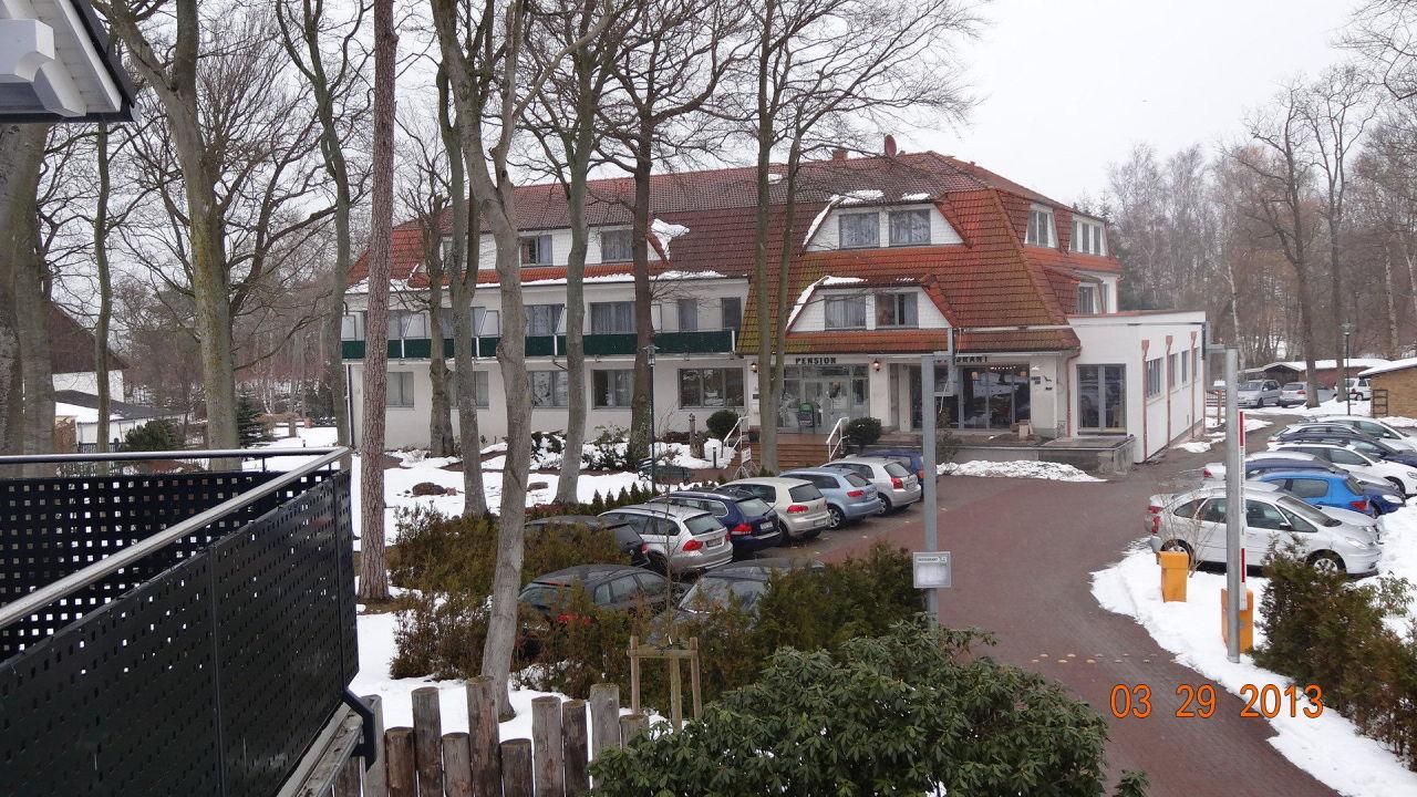 """""""Blick vom Fischhaus"""" Pension Haus am Meer Graal Müritz"""