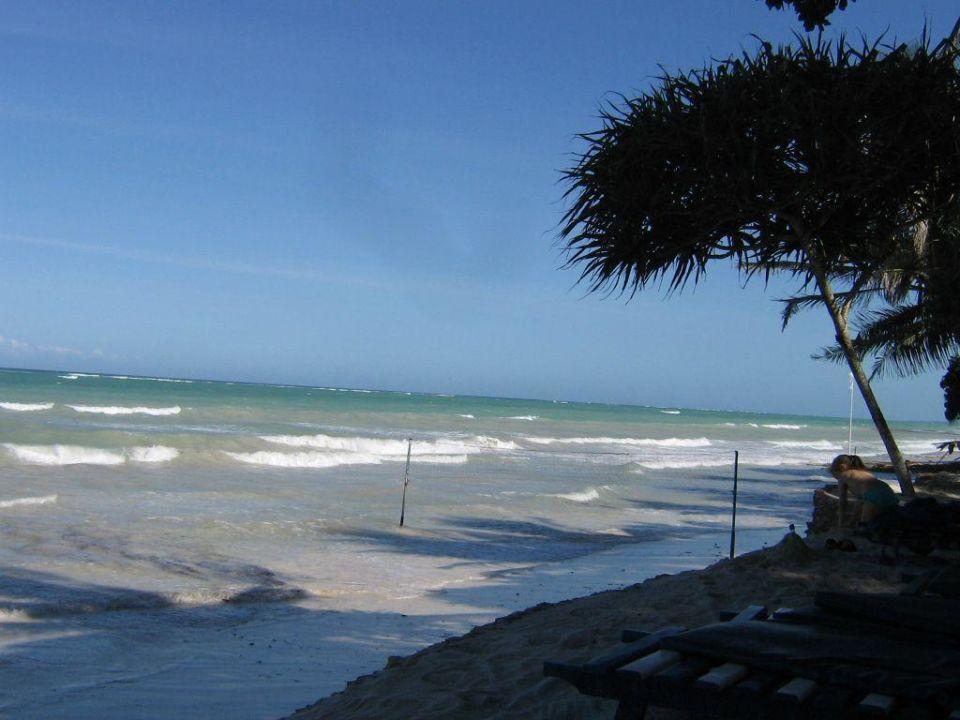 Strand bei Flut Kaskazi Beach Hotel