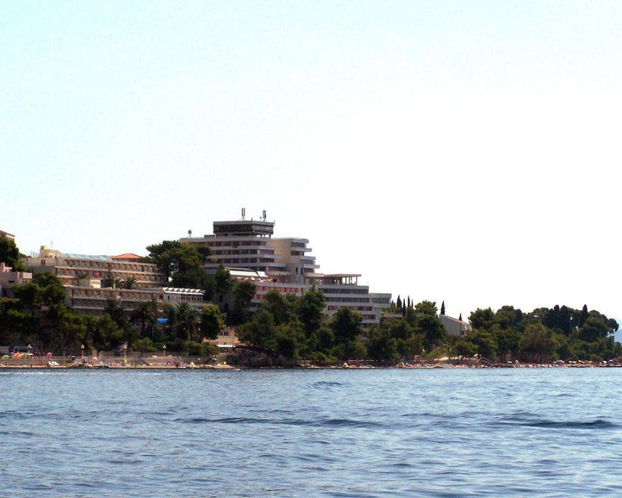 Hotel Minerva vom Boot aus Hotel Minerva  (Vorgänger-Hotel – existiert nicht mehr)