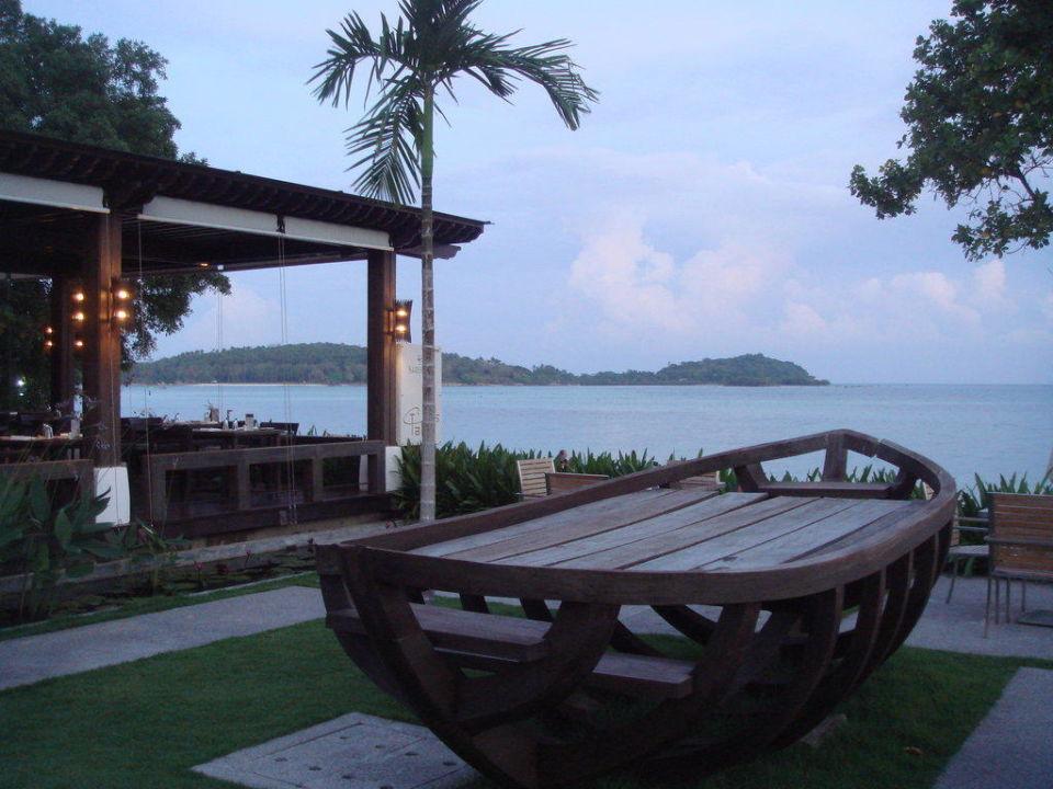 Ausblick vom Poolbereich Hotel Sareeraya Villas & Suites