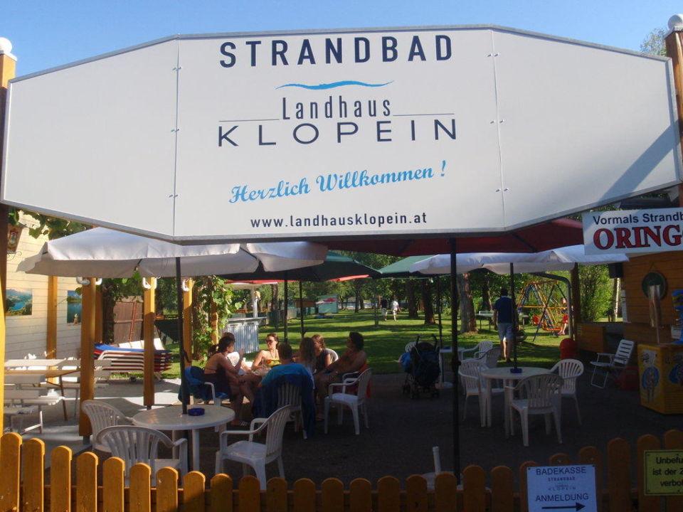 Beach bar Landhaus Klopein