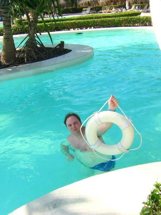 Genussvolle Pool Landschaft IBEROSTAR Hotel Dominicana