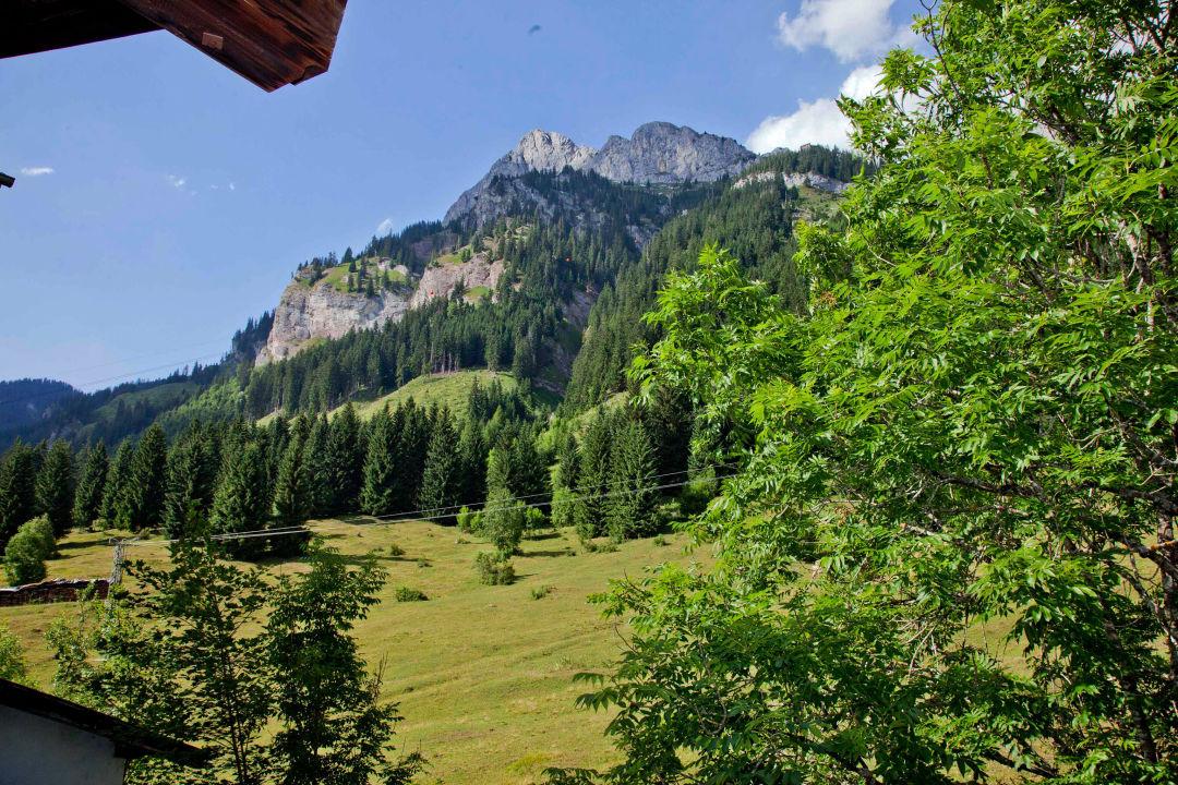Aussicht  Hotel Berghof
