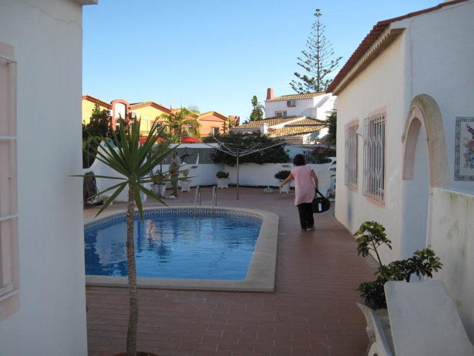 Pool und Terrasse Hotel Casa Idalina