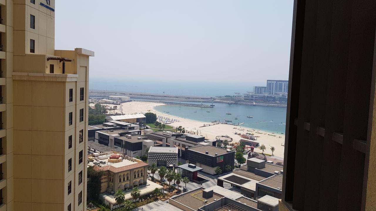 Ausblick Sofitel Dubai Jumeirah Beach