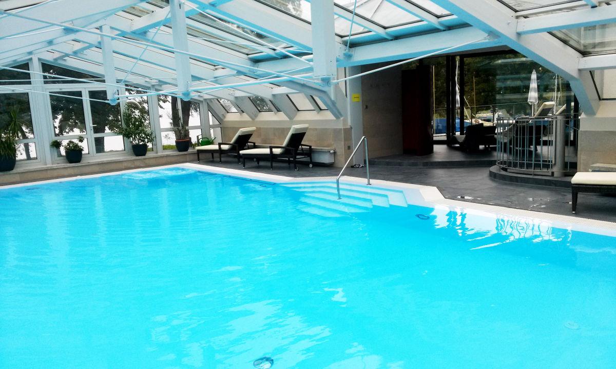 Hallenbad Mit Ausgang Zum Spa Hotel Schwedi Langenargen