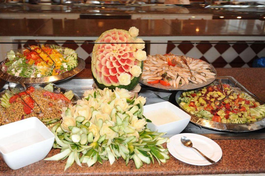 Buffet im Restaurant Aladin Tia Heights Makadi Bay