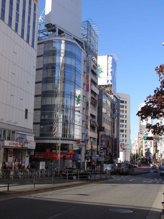 Main street ibis Hotel Tokyo Shinjuku