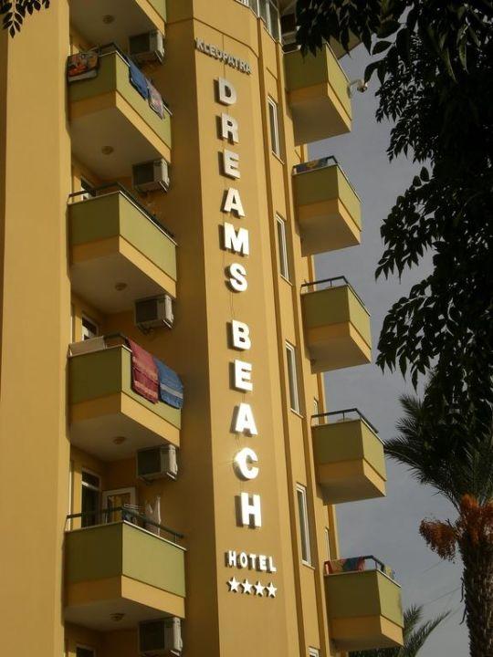 Außenansicht Hotel Kleopatra Dreams Beach