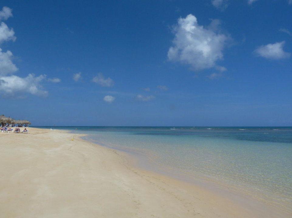 Hotel-Strand am Vormittag Grand Bahia Principe El Portillo