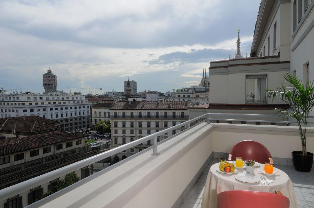 Ausblick iH Hotels Milano Ambasciatori