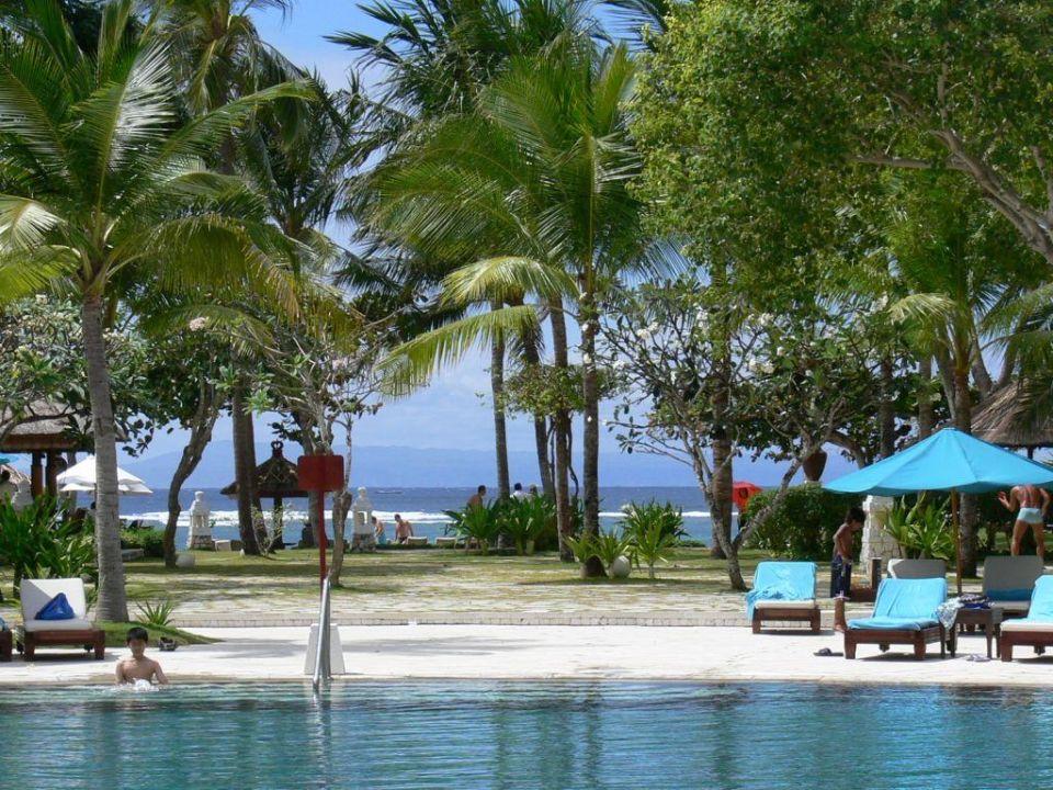 Pool zum Meer The Westin Resort Nusa Dua, Bali