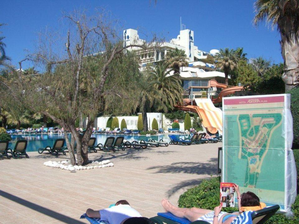 Außenpool mit Blick auf das Hotel Hotel Side Star Elegance