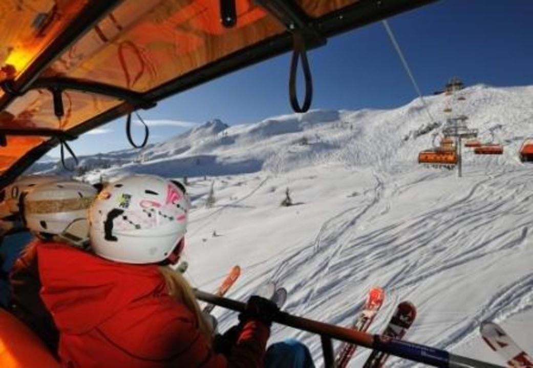 Double room Funsport-, Bike- & Skihotelanlage Tauernhof
