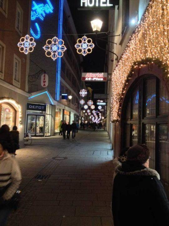 Depot Weihnachtsbeleuchtung.Weihnachtsbeleuchtung Hotel Stadtkrug Salzburg Holidaycheck