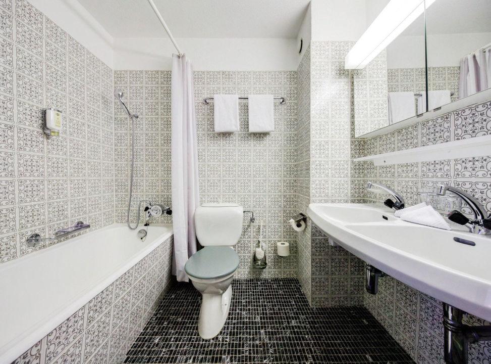 Badzimmer Hotel Parsenn