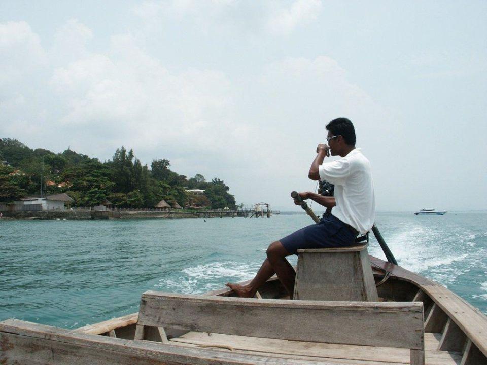 Überfahrt zur Privatinsel Hotel Evason Phuket & Spa  (geschlossen)