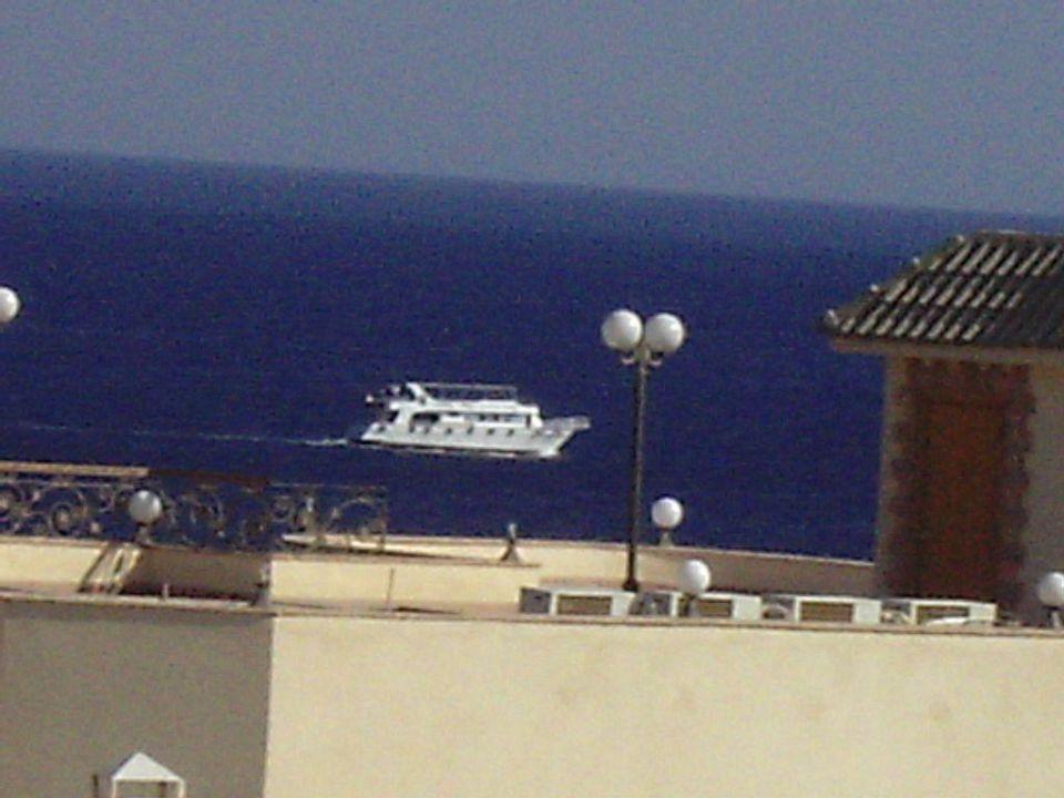 Balkon Aussicht Concorde El Salam Hotel Sharm el Sheikh