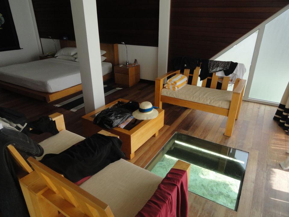 Sitzgruppe Mit Bodenfenster Cinnamon Hakuraa Huraa Maldives Muli