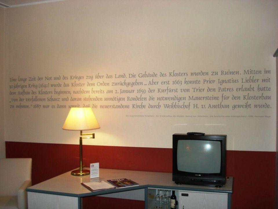 Nette wandgestaltung hotel augustiner kloster - Idee fa r wandgestaltung ...