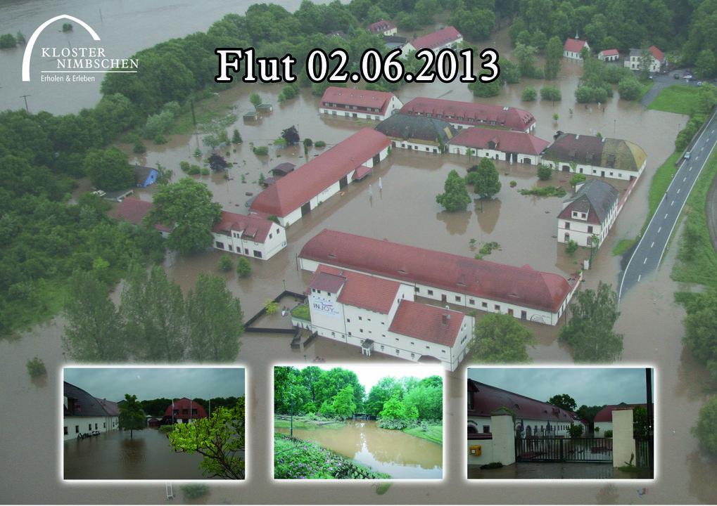 Luftaufnahme Hochwasser 2013\