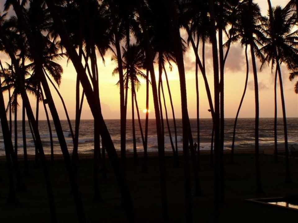 Sri Lanka-Sonnenuntergang Hotel The Blue Water