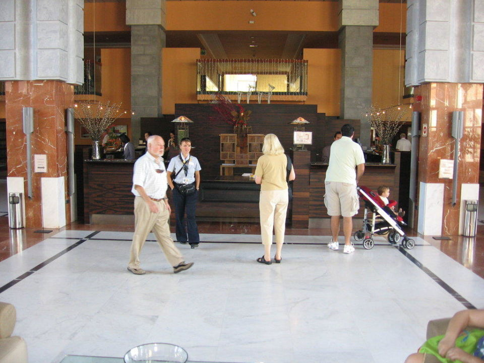 Rezeption Lopesan Costa Meloneras Resort, Spa & Casino