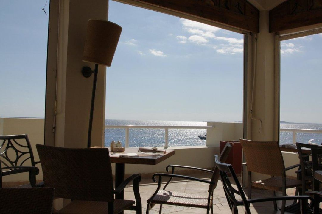 Speisen mit Blick aufs Meer Hotel Reef Oasis Beach Resort