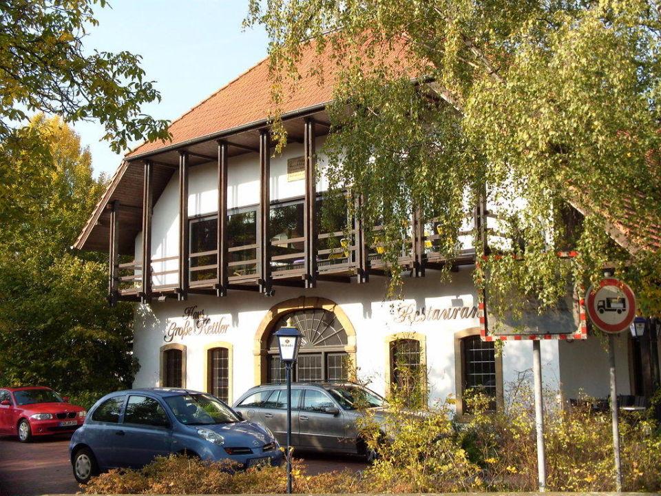 """""""Hotelansicht vorne"""" Haus Große Kettler Bad Laer"""