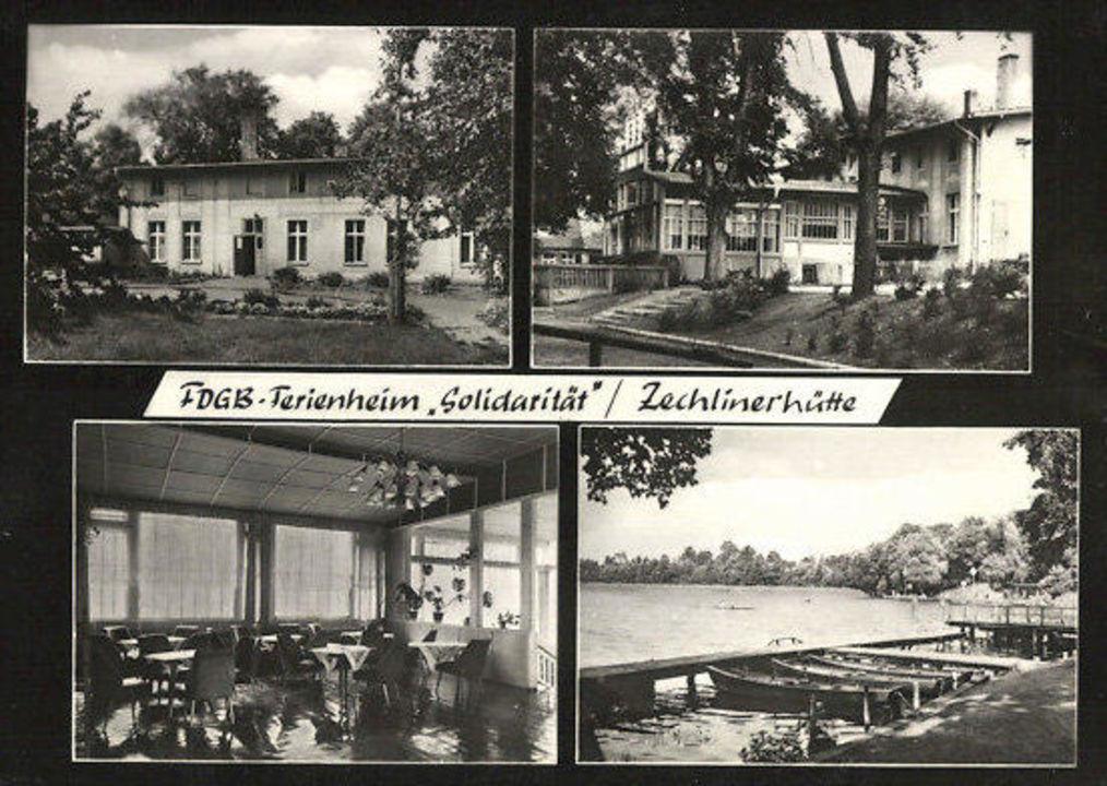"""Haus am See Zechlinerhütte 1970 FDGB Ferienheim"" Hotel"