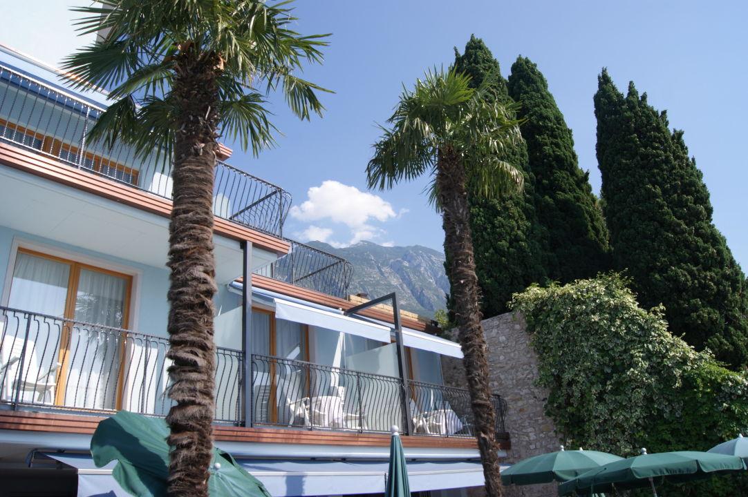 Zimmer mit Terrasse Hotel Venezia