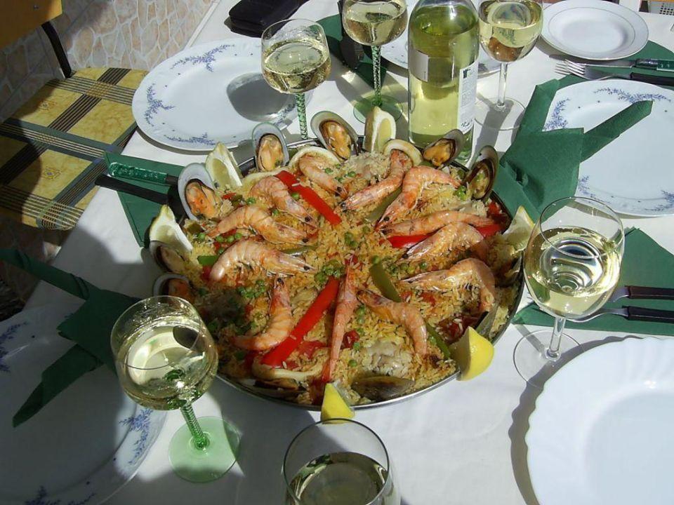 eine gute Paella Hotel Surycan