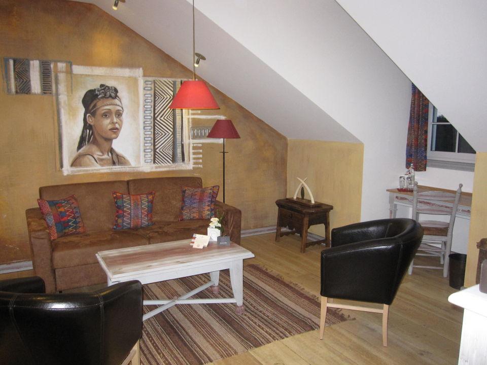 Suite Afrika   Wohnzimmer Hotel Bell Rock Europa Park