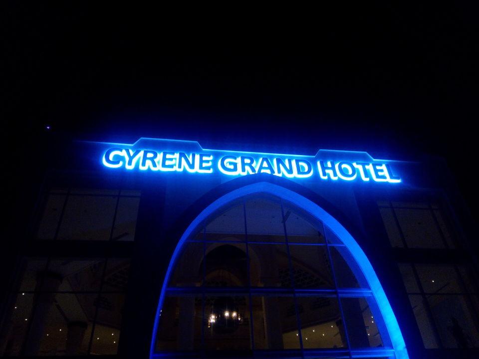 Außenansicht Cyrene Grand Hotel (Vorgänger-Hotel - existiert nicht mehr)