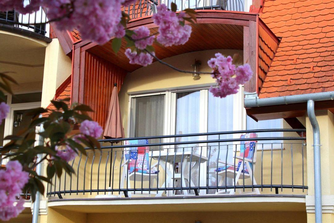 Balkon vom Appartement Nr.4. Anett  Villa