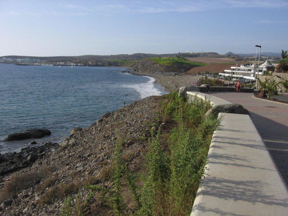 Ausblick vom Boulevard Lopesan Costa Meloneras Resort, Spa & Casino