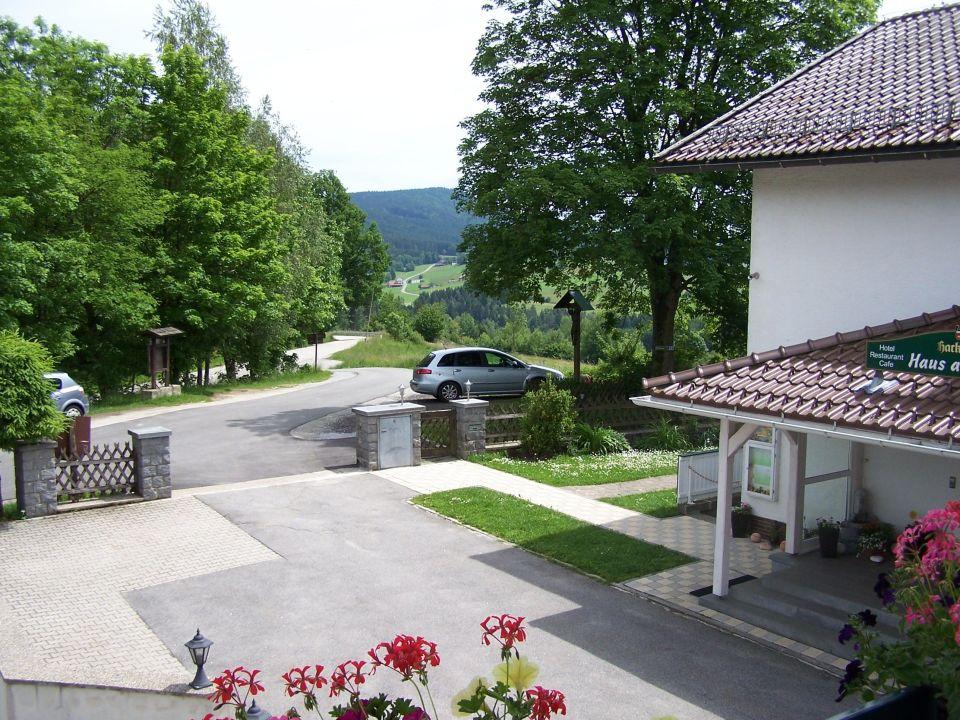 """""""Blick von unserem Balkon"""" Haus am Berg Rinchnach"""