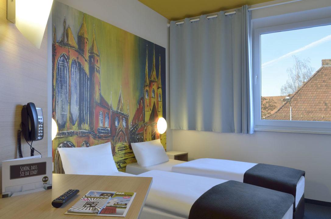 Zweibettzimmer B&B Hotel Erfurt