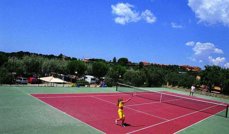 Campo da tennis Hotel La Casetta