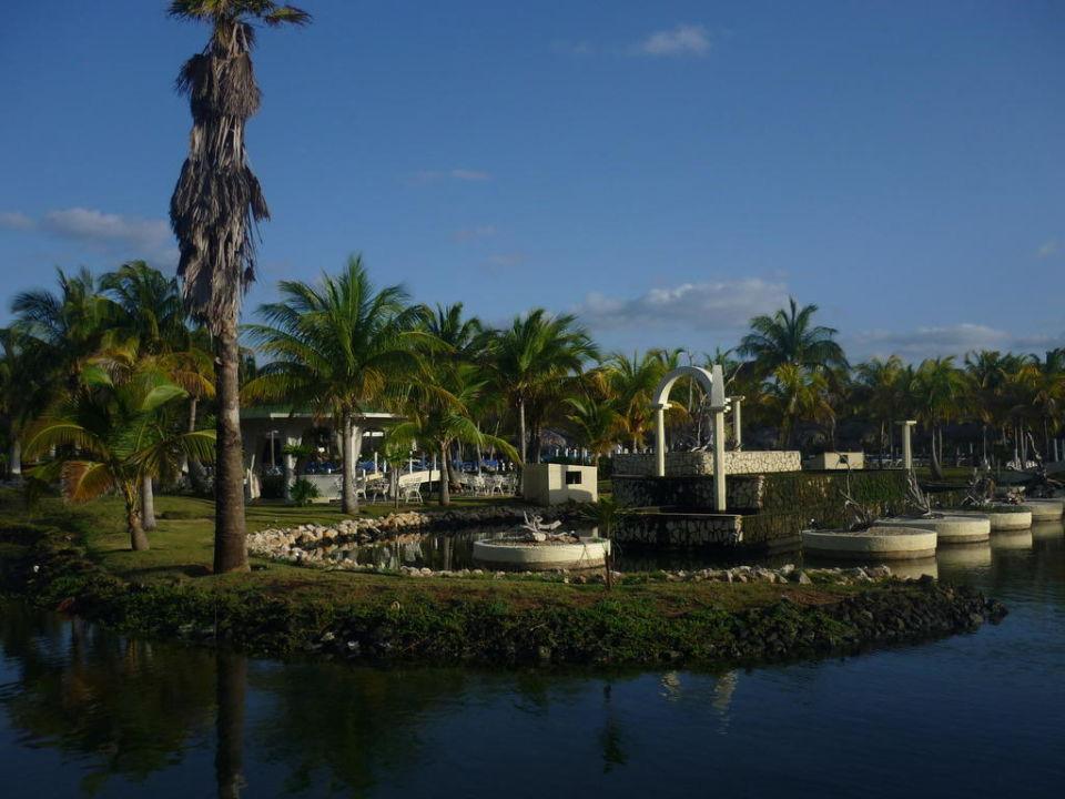 Garten mit Lagunenteil Melia Las Antillas - Adults only