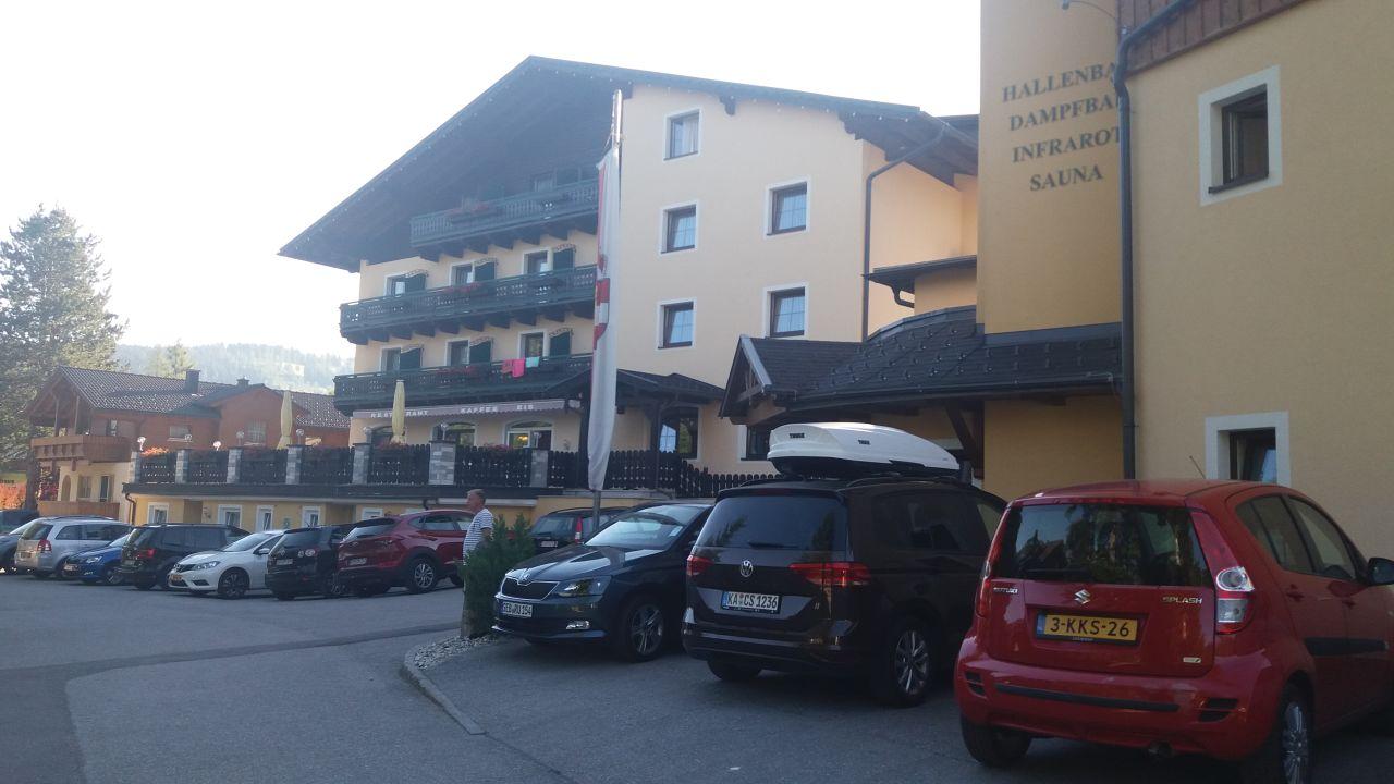 Außenansicht Hotel Kirchboden