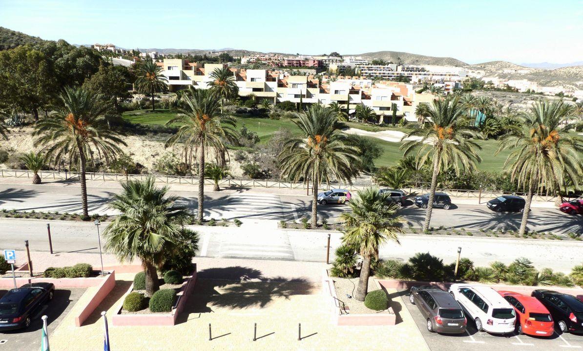 Blick vom Balkon Hotel Valle del Este Golf Spa