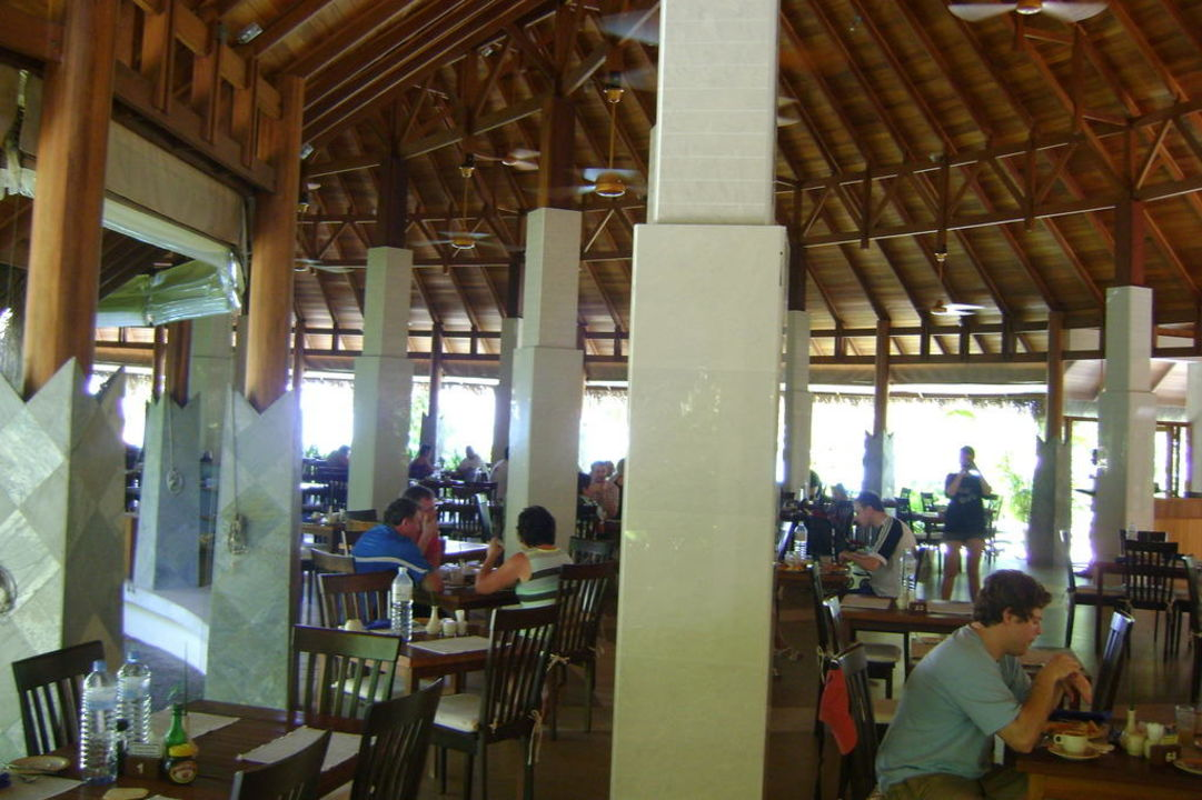 All-inclusive-Restaurant Kuramathi Maldives