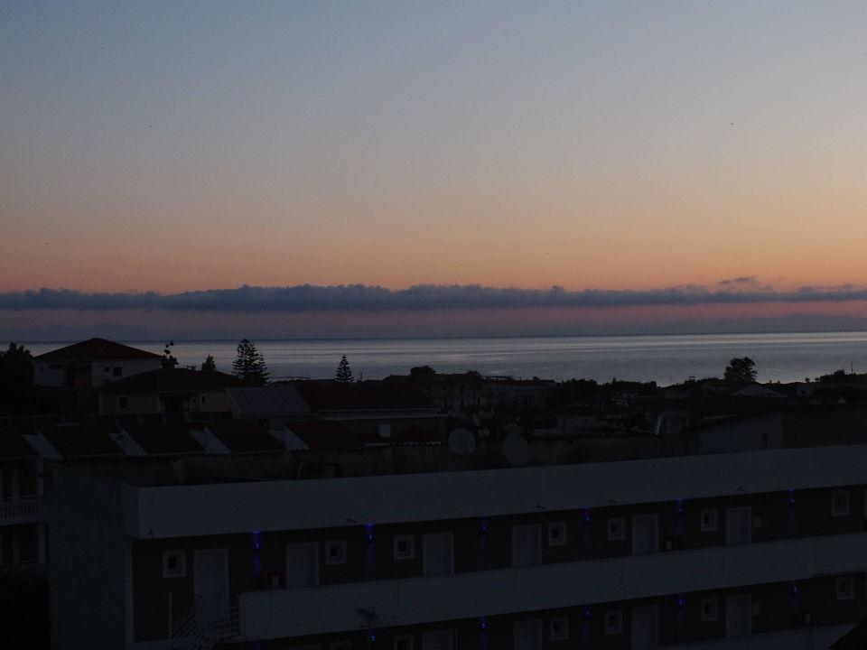 Widok wieczorem Mavrikos Hotel Zante