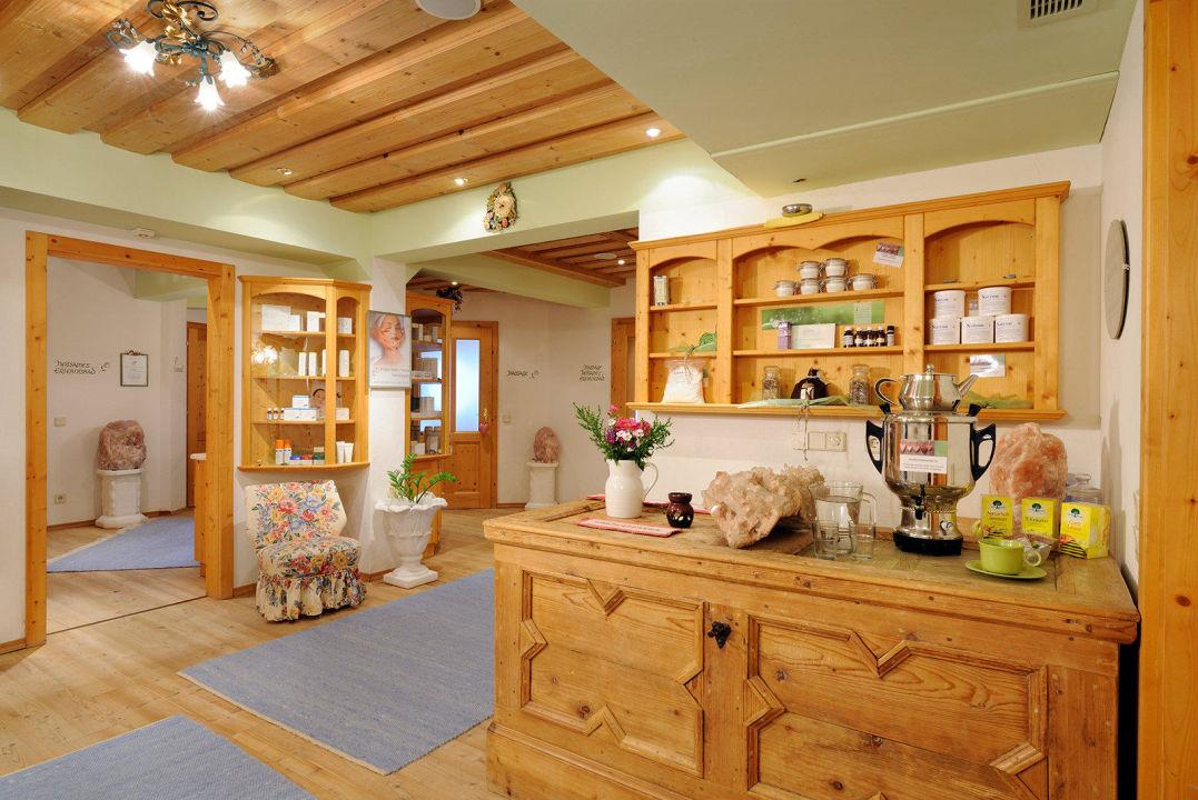 Wellnessbereich Naturhotel Alpenrose